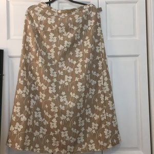 Liz Claiborne Wrap Around Long Skirt
